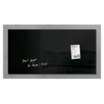 Sigel artverum Glass Black magnetic board