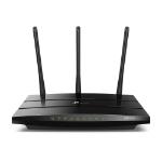 TP-LINK AC1900 wireless router Dual-band (2.4 GHz / 5 GHz) Gigabit Ethernet Black