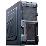"""Akyga ' aky003bk""""ATX PC di gomma per Gamer Nero Midi Tower Black"""