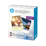 HP Social Media Snapshots photo paper White