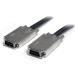 StarTech.com 1m Infiniband External SAS Cable - SFF-8470 to SFF-8470