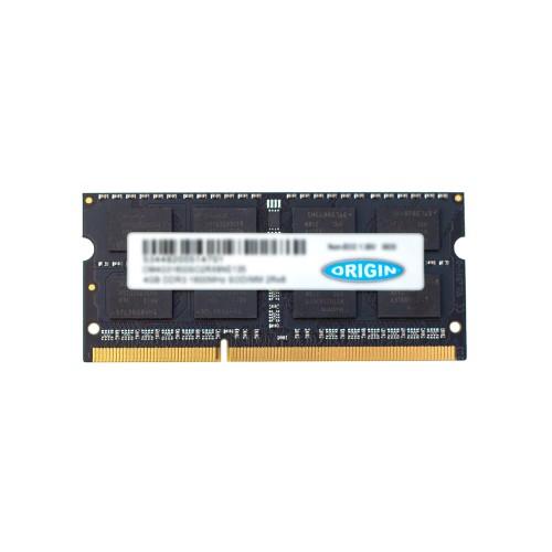 Origin Storage 16GB DDR3 1600MHz SODIMM 2Rx8 Non-ECC 1.35V