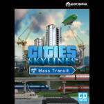 Paradox Interactive Cities: Skylines Mass Transit, PC Basic PC English video game