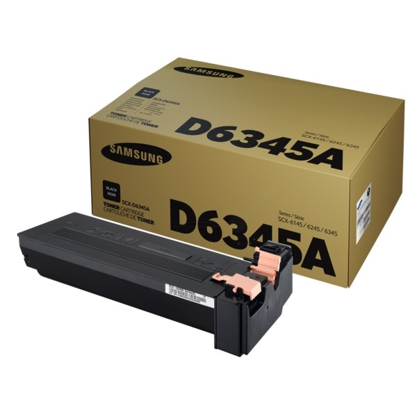 Samsung SCX-D6345A/ELS Toner black, 20K pages @ 5 coverage