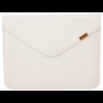 "Urban Factory The Envelope 24.6 cm (9.7"") Sleeve case White"