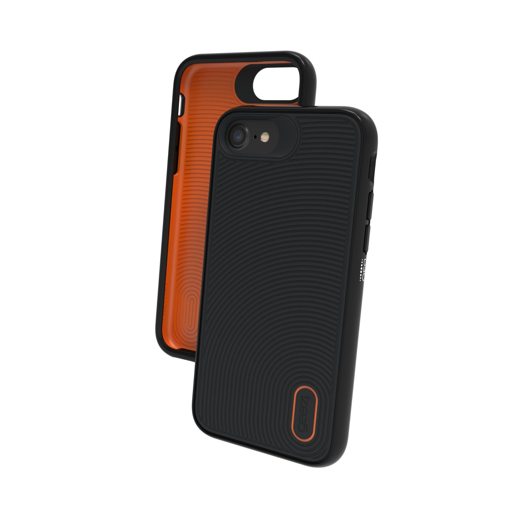"GEAR4 Battersea funda para teléfono móvil 11,9 cm (4.7"") Negro, Naranja"
