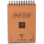 Clairefontaine 96606C writing notebook A5 100 sheets Orange