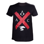 ASSASSIN'S CREED Syndicate Rooks Red Cross Edition T-Shirt, Male, Extra Large, Black (TS201603ACS-XL)