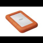LaCie Rugged Mini external hard drive 1000 GB Orange, Silver