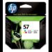 HP 57 Original Cian, Magenta, Amarillo 1 pieza(s)