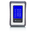 DataLocker 3 1TB USB3 PIN Authenticated 256-bit AES Encrypted HDD