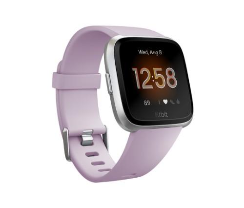 Fitbit Versa Lite smartwatch Purple,Silver LCD 3.4 cm (1.34