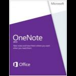 Microsoft OneNote 2013, x32/64, 1u, ENG