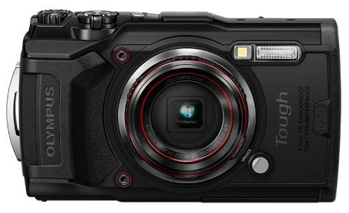 """Olympus Tough TG-6 Compact camera 12 MP CMOS 4000 x 3000 pixels 1/2.33"""" Black"""