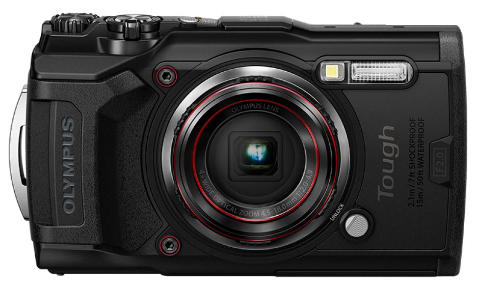 Olympus Tough TG-6 Compact camera 12 MP CMOS 4000 x 3000 pixels 1/2.33
