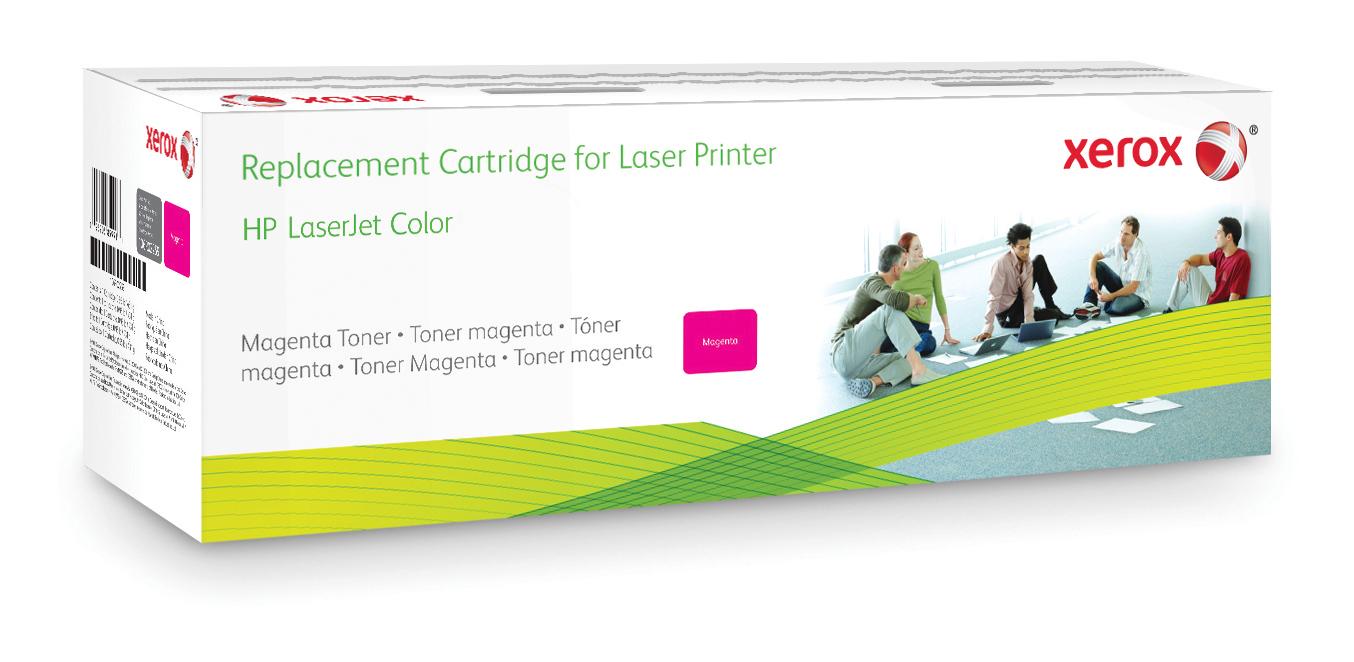Xerox Cartucho de tóner magenta. Equivalente a HP CF323A. Compatible con HP Colour LaserJet M680