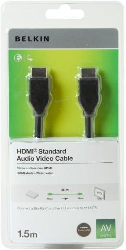 Belkin HDMI 1.5m HDMI HDMI Black cable