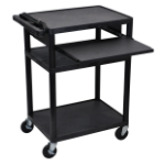 Luxor LP34LE-B multimedia cart/stand Black