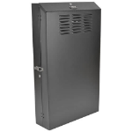 Tripp Lite SRWF4U36 SmartRack 4U Low-Profile Vertical-Mount Server-Depth Wall-Mount Rack Enclosure Cabinet