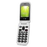 "Doro 2404 6.1 cm (2.4"") 100 g Black,White Feature phone"