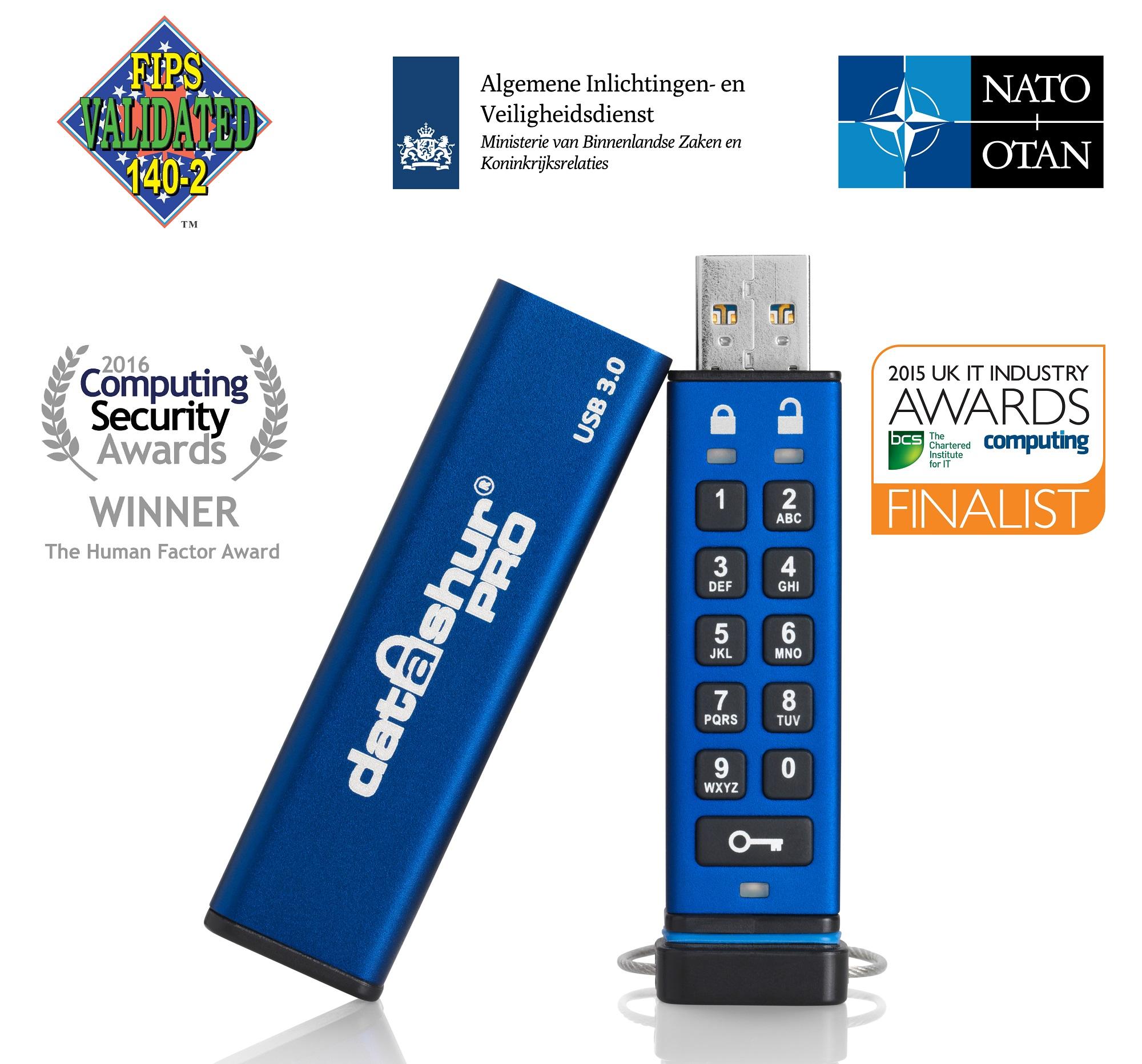 iStorage datAshur Pro USB3 256-bit 128GB