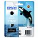 Epson C13T76084010 (T7608) Ink cartridge black matt, 1.1K pages, 26ml