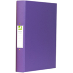 Q-CONNECT KF01475 Purple ring binder