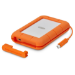 LaCie Rugged 2TB Thunderbolt and USB-C & 3 Portable External HDD for PC and Mac
