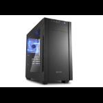 Sharkoon S1000 Window computer case Black