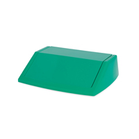 ADDIS 60L FLIPTOP BIN LID GREEN