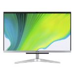 "Acer Aspire C24-420-UR11 23.8"" 1920 x 1080 pixels Touchscreen AMD Ryzen 3 8 GB DDR4-SDRAM 512 GB SSD All-in-One PC Windows 10 Home Wi-Fi 5 (802.11ac) Black, White"