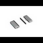 eSTUFF ES623100 interface hub USB 3.2 Gen 1 (3.1 Gen 1) Type-C 5120 Mbit/s Grey