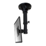 "Newstar FPMA-C025BLACK 30"" Black flat panel ceiling mount"