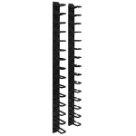 Tripp Lite SmartRack 6-ft. (1.8 m) Vertical Cable Manager - Flexible ring type & toolless mounting