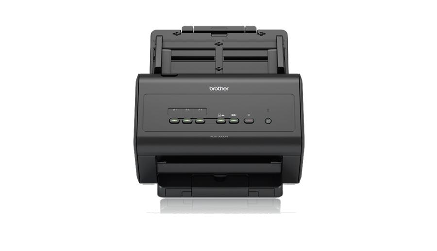 Brother ADS-3000N scanner ADF scanner 600 x 600 DPI A4 Black