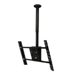 "B-Tech BT8427 65"" Black flat panel ceiling mount"