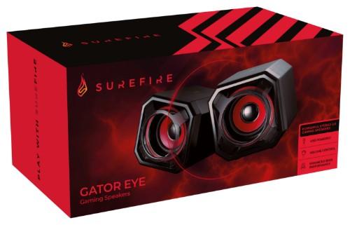 SureFire Gator Eye Black, Red Wired 2.5 W