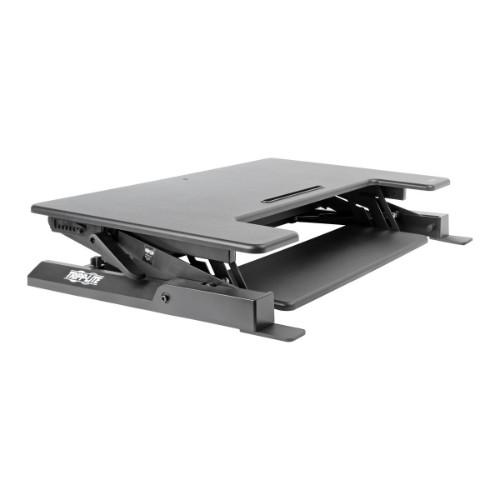 Tripp Lite WorkWise Height-Adjustable Sit-Stand Desktop Workstation, 36 x 22 in. Monitor Platform