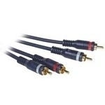 C2G 3m Velocity RCA Audio Cable