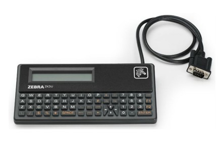 Zebra ZKDU-001-00 RS-232 Black keyboard