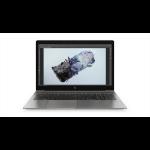 HP ZBook 15u G6 Schwarz Mobiler Arbeitsplatz 39,6 cm (15.6 Zoll) 3840 x 2160 Pixel Intel® Core™ i7 der achten Generation i7-8565U 16 GB DDR4-SDRAM 512 GB SSD Windows 10 Pro