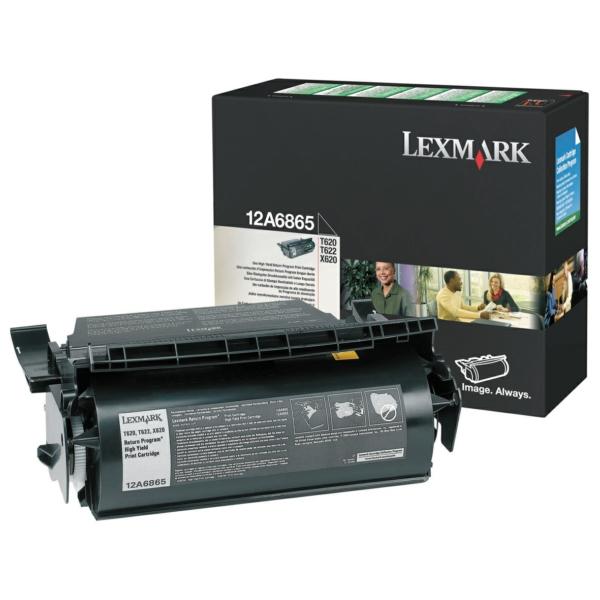 Lexmark 12A6865 Toner black, 30K pages