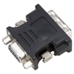 Targus ACX120EUX cable interface/gender adapter DVI-I VGA Black
