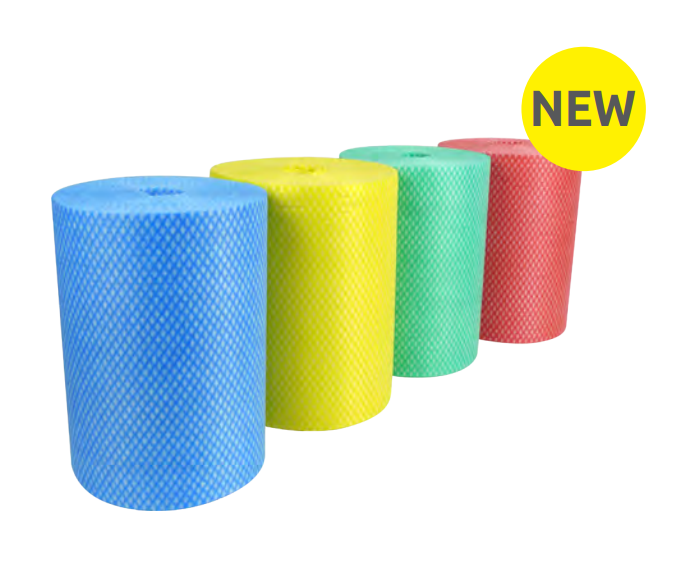 Envirolite Super Rolls Medium (200 sheet) Yellow PK6