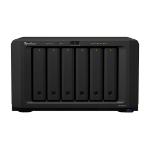 Synology DiskStation DS1621xs+ D-1527 Ethernet LAN Desktop Black NAS DS1621XS+/84TB-EXOS