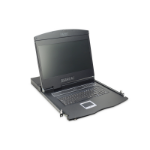 "Digitus DS-72211 rack console 48.3 cm (19"") 1366 x 768 pixels Black 1U"