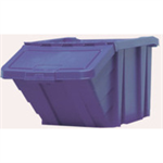 VFM Blue Heavy Duty Recycle Storage Bin With Lid 369044