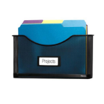 Fellowes Mesh Partition Additions File Pocket file storage box Black