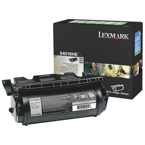 Lexmark 64016HE Toner black, 21K pages