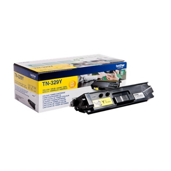 Brother TN-329Y Toner yellow, 6K pages